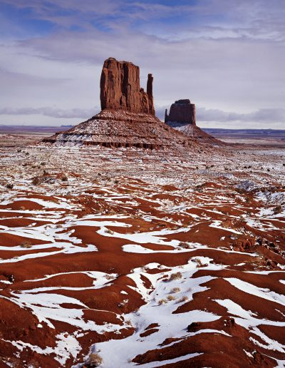 jack arnold monument valley snow