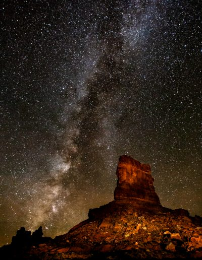 Milky Way Red Rocks